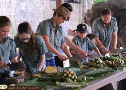 Elephant Hills Elephant Experience Family Holidays in Thailand in cool Rainforest Ranger Safari Shirts