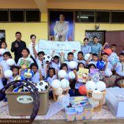 Elephant Hills donates sports equipment and stationery