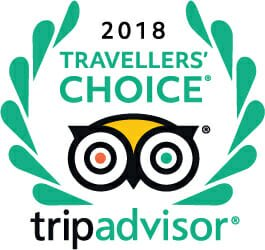 Tripadvisor Travelers Choice 2018