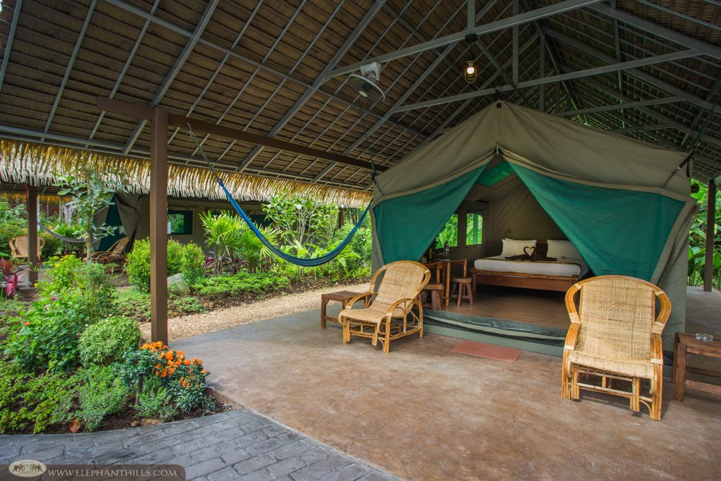 Elephant Hills Camp Luxury Tent