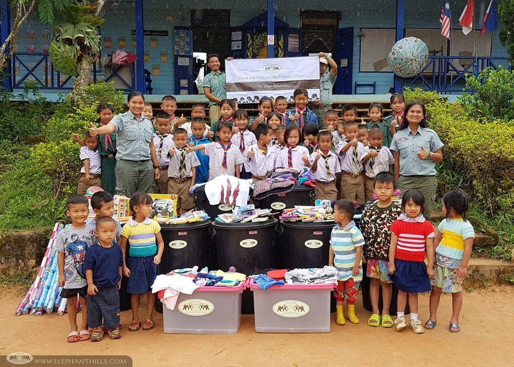 Elephant Hills Childrens Project - Mae Aum Long Noi