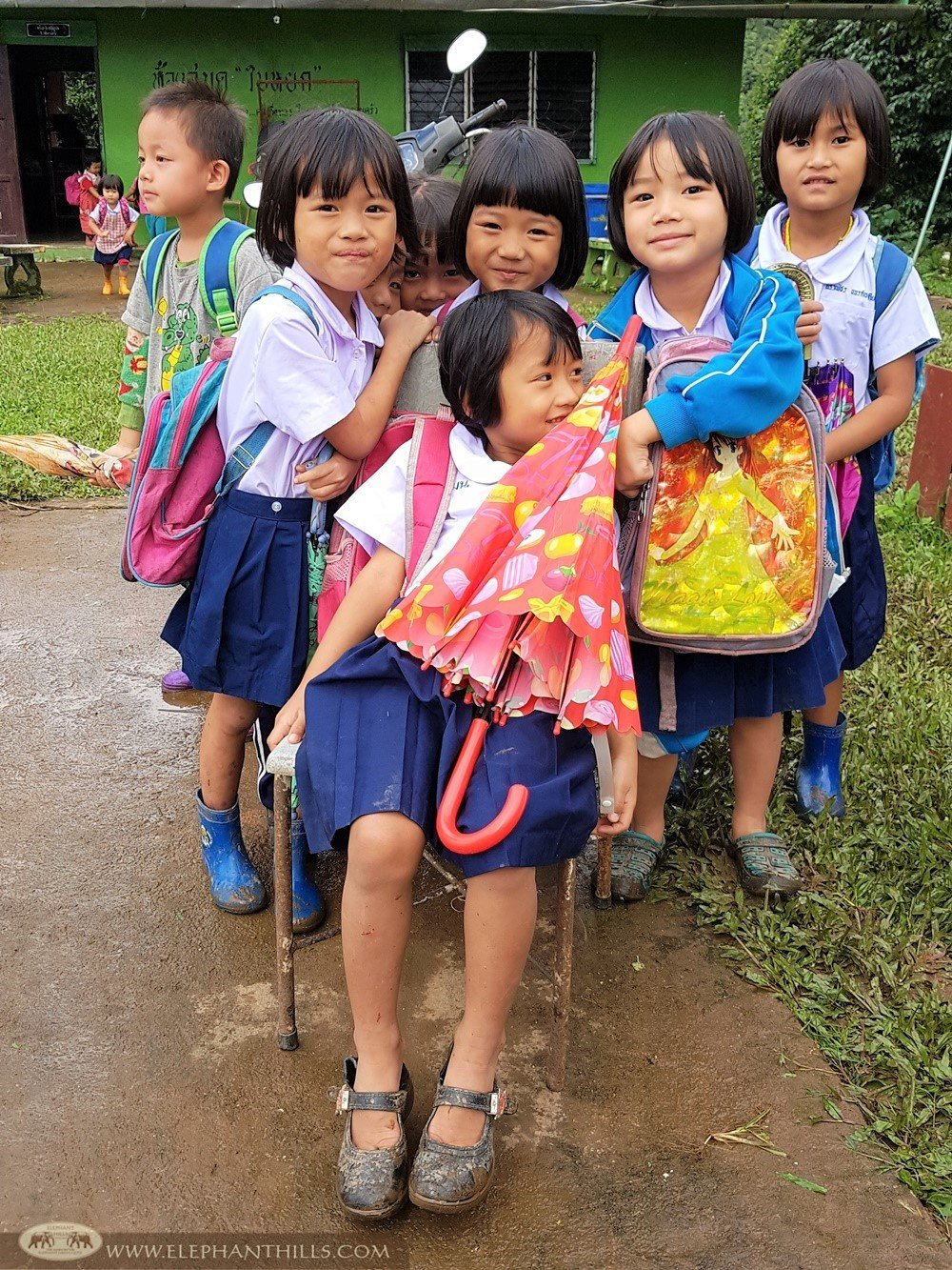 Elephant Hills Children's Project - Helping schools in Mae Hong Son