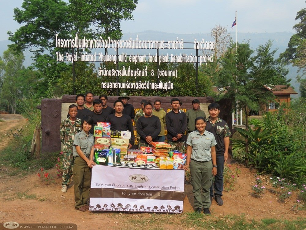 Elephant Hills Elephant Conservation Project - Phu Luang Wildlife Sanctuary - Loei