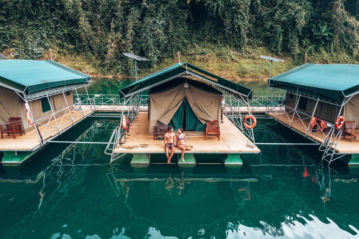 Romantic Rainforest Camp